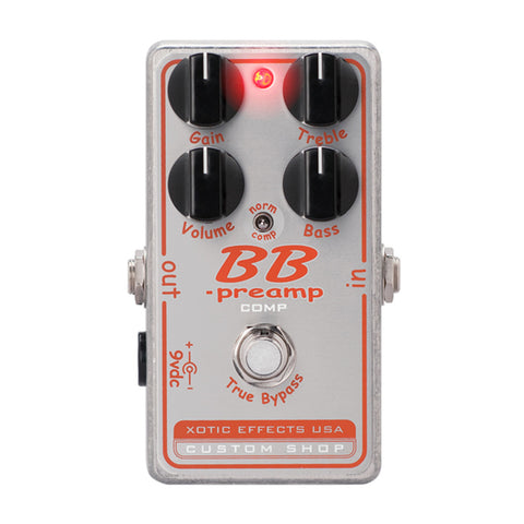 Xotic Effects BB-Preamp Comp Custom Shop
