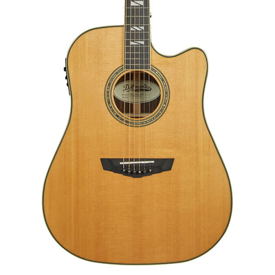 D'Angelico Excel Bowery Acoustic Guitar - Vintage Natural