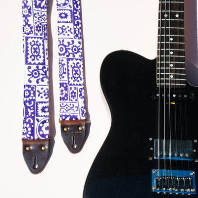 Original Fuzz Reclaimed Guitar Strap in Liberty Street