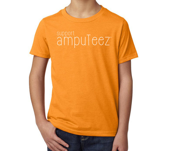 support ampuTeez Kid's T-Shirt