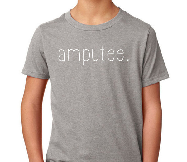 amputee. Kid's T-Shirt