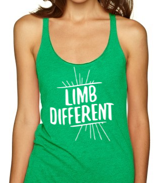 Limb Different Women's Racerback Tank