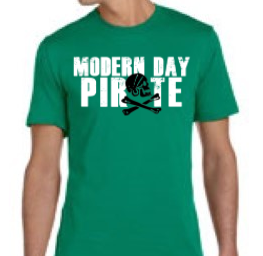 Modern Day Pirate Men's T-Shirt