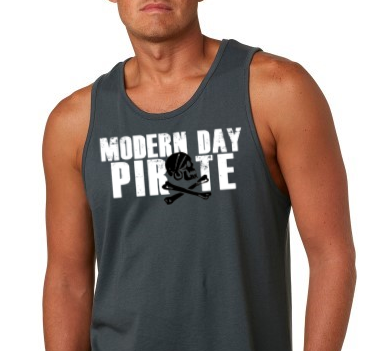 Modern Day Pirate Men's Tank