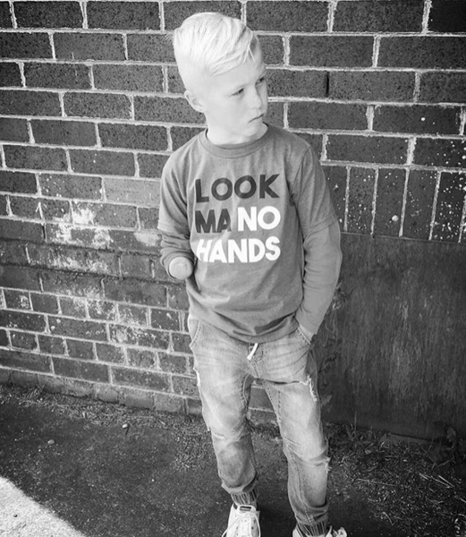 Look Ma, No Hands Kid's T-Shirt