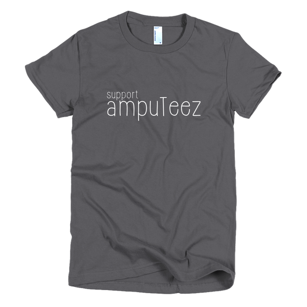 support ampuTeez Women's T-Shirt