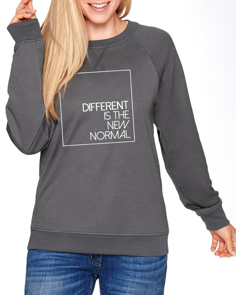Different is the New Normal Unisex Crew Neck Sweatshirt