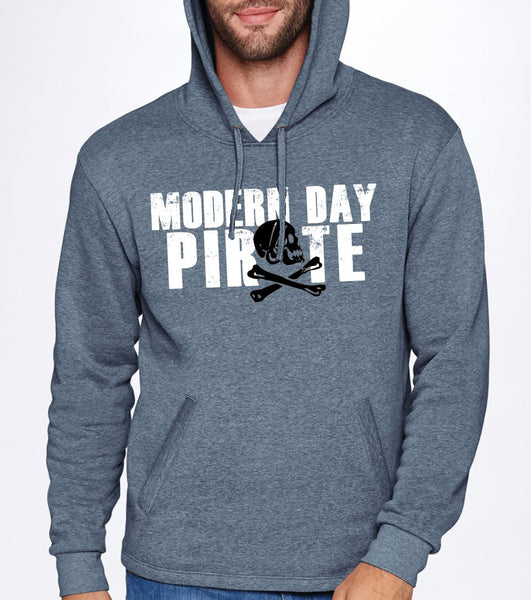 Modern Day Pirate Unisex Hooded Sweatshirt