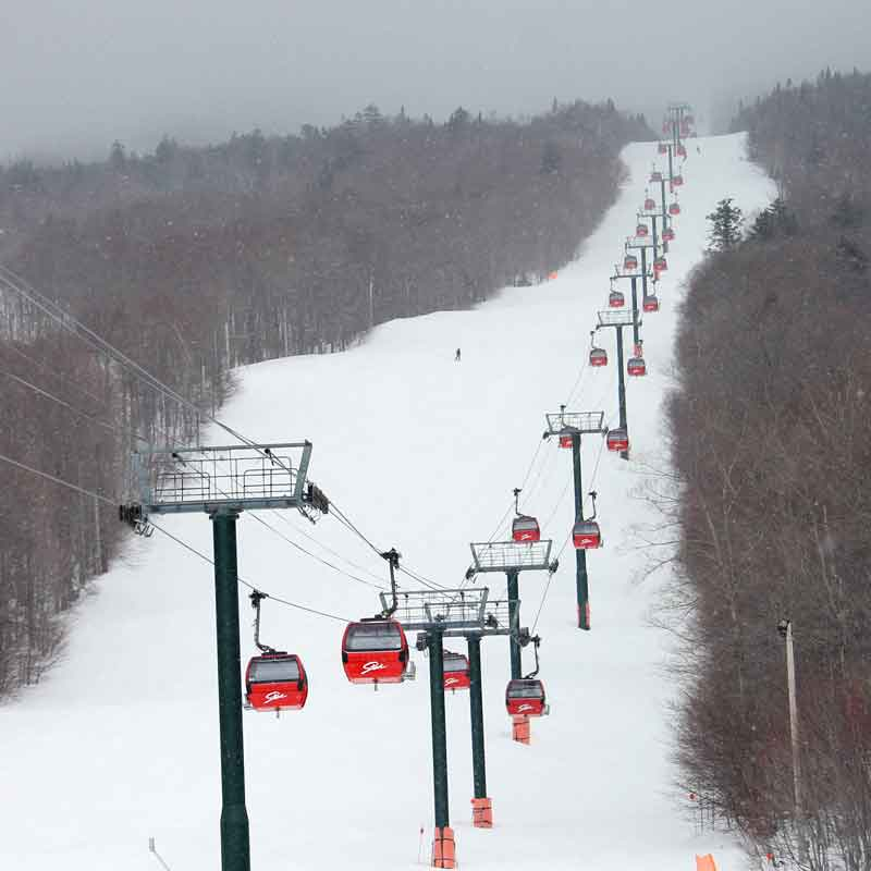 Stowe Mountain Gondola