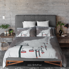 ski bedding stowe gondola ski home decor ski stuff