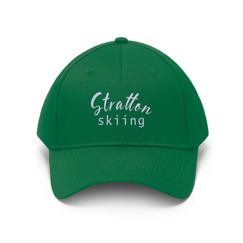 Stratton Skiing - Unisex Twill Hat