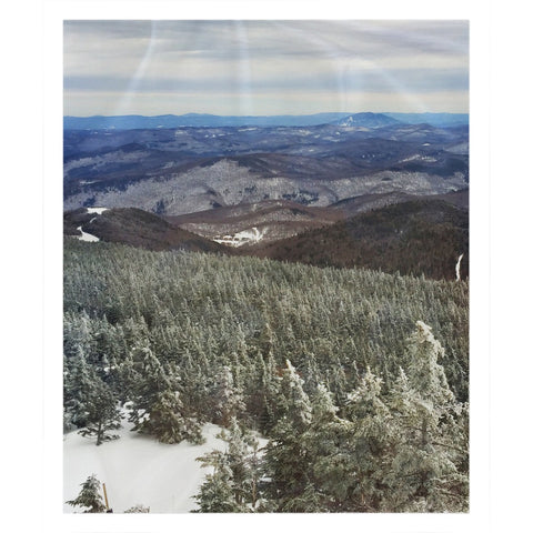 Killington Summit View - Throw Blanket