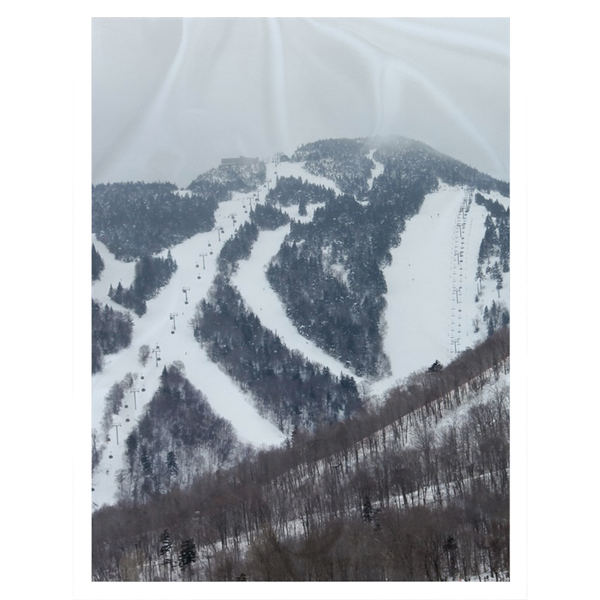 Killington Mountain - Throw Blanket