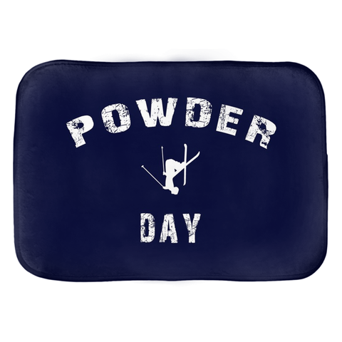 Powder Day Navy - Bath Mat
