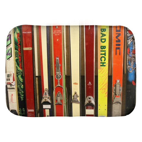 Skis and Bindings - Bath Mat