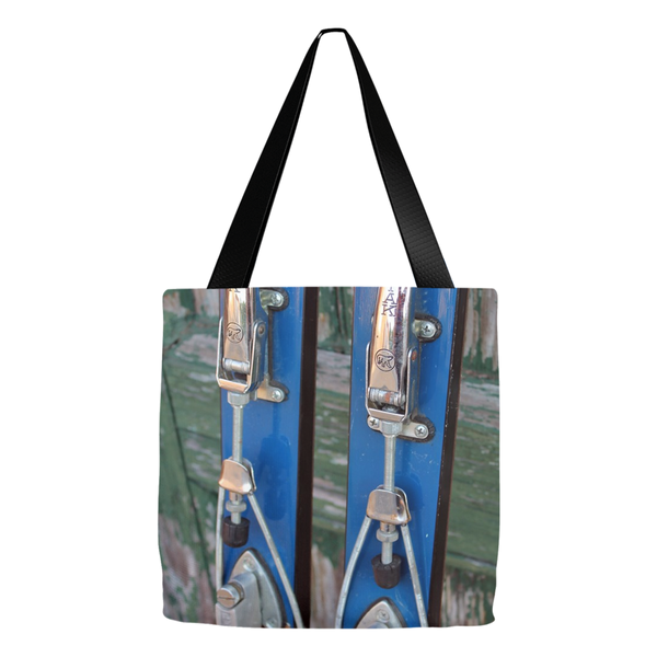 Vintage Ski Bindings - Tote Bag