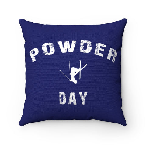 Powder Day Blue - Pillow
