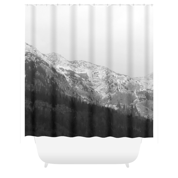 Ausseer Mountains - Shower Curtain