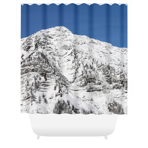 Sunny Mountain - Shower Curtain