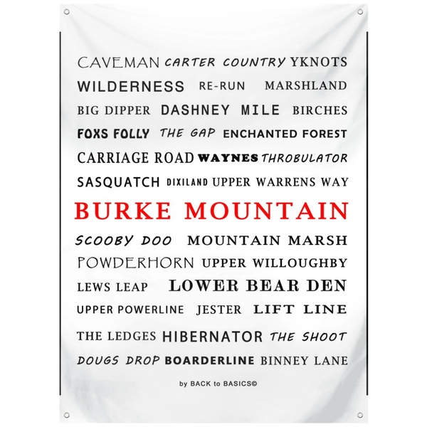 Burke Mountain - Wall Tapestry