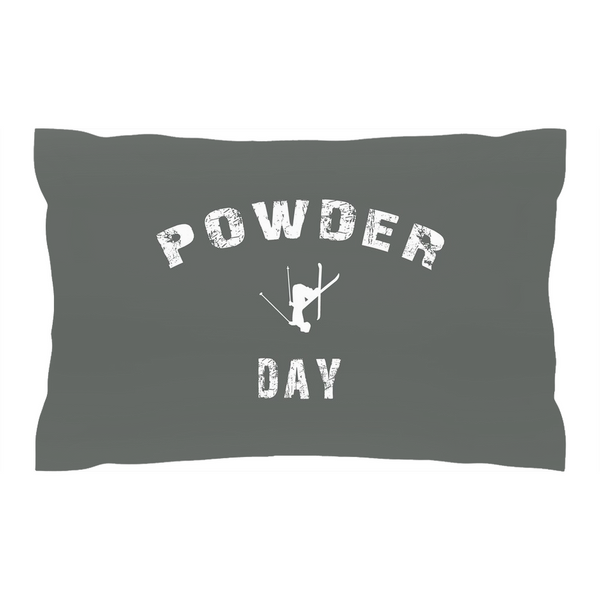 Powder Day Gray - Pillow Sham