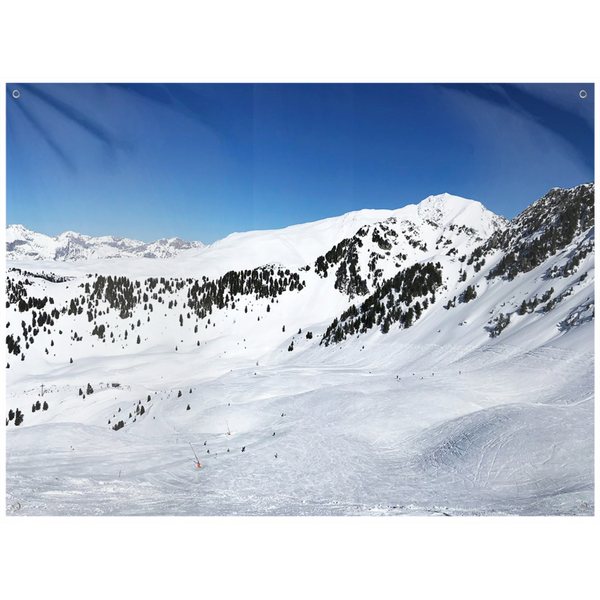 Skiing Tyrol - Wall Tapestry