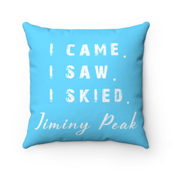 I skied Jiminy Peak - Pillow