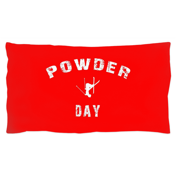Powder Day Red - Pillow Sham