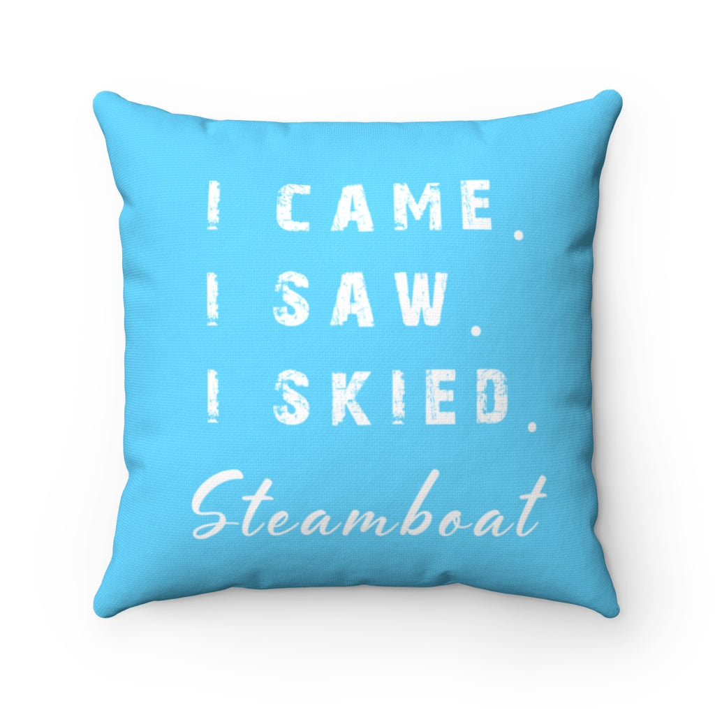 I skied Steamboat - Pillow