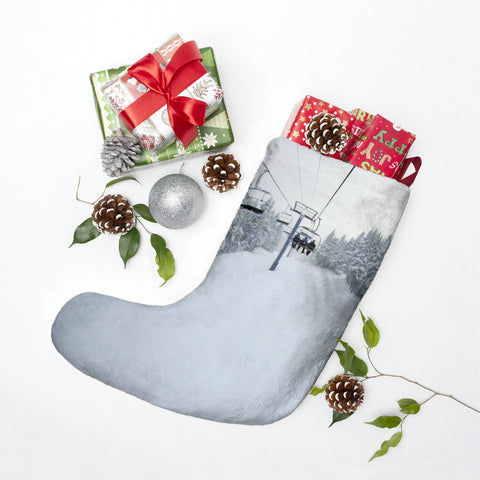 Christmas Stockings - Chair Lift