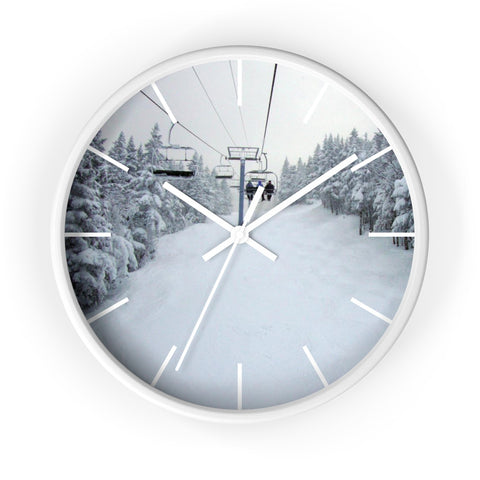 Wall Clock - Chair Lift Vermont