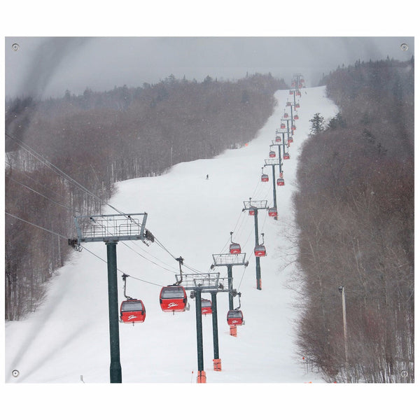 Stowe Mountain Gondola - Wall Tapestry