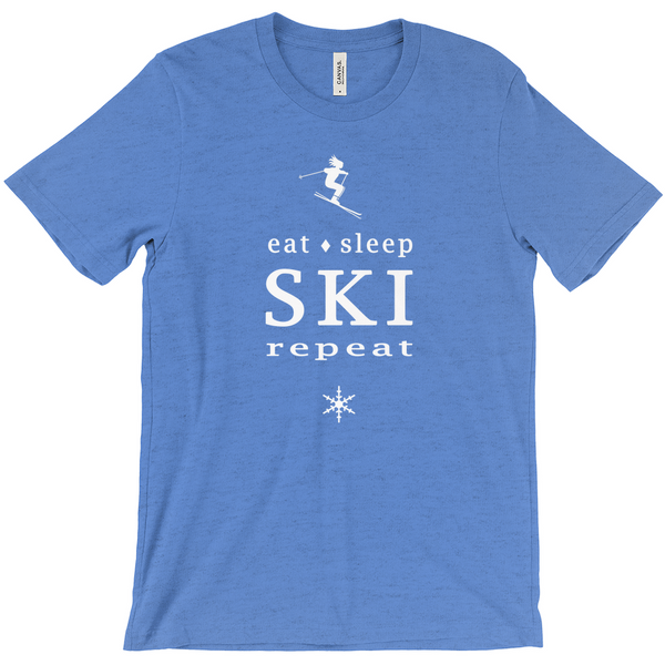 Eat Sleep Ski - T-Shirt