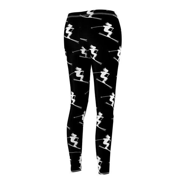 Women's Trendy Leggings - Skier