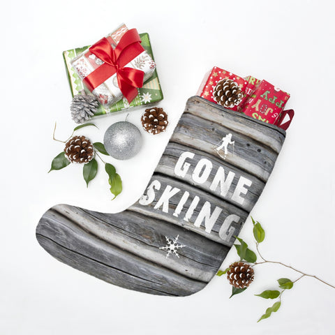 Christmas Stockings - Gone Skiing