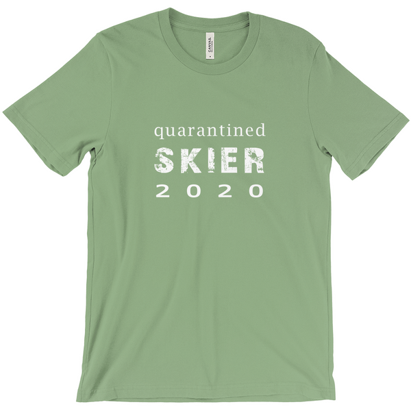 Quarantined Skier - T-Shirt