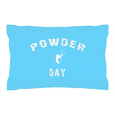 Powder Day Light Blue - Pillow Sham