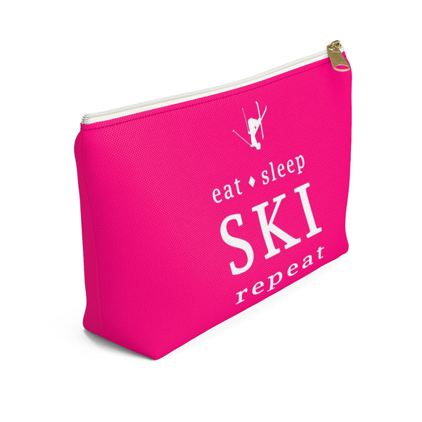 Eat Sleep SKI - Accessory Pouch w T-bottom
