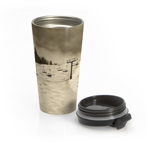 Stainless Steel Travel Mug - Superstar Trail Killington