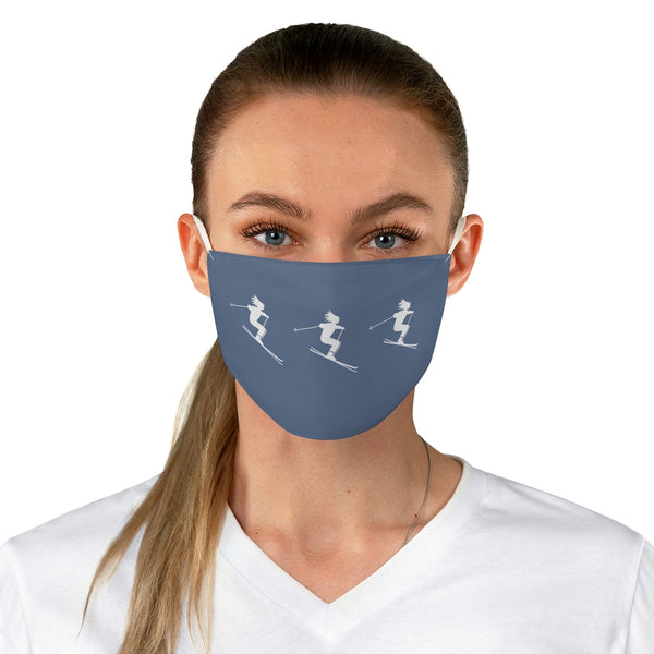 Skier Jeans Blue - Fabric Face Mask