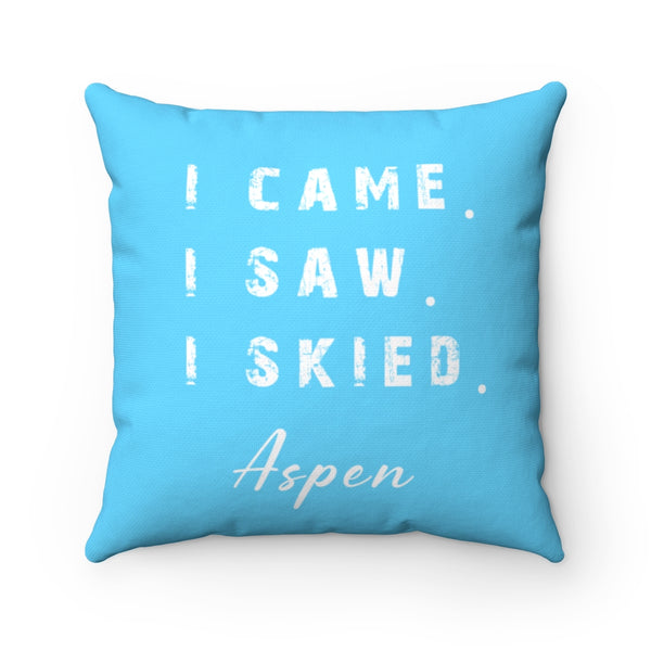 I skied Aspen - Pillow