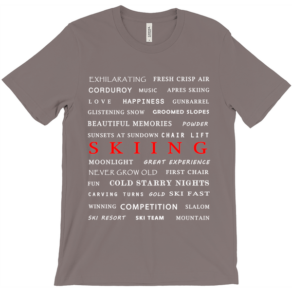 Skiing - T-Shirt