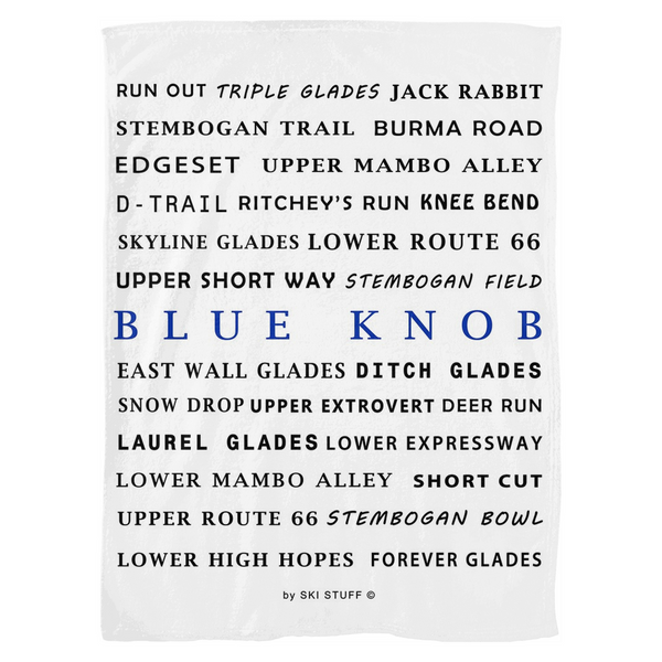 Blue Knob Resort - Throw Blanket