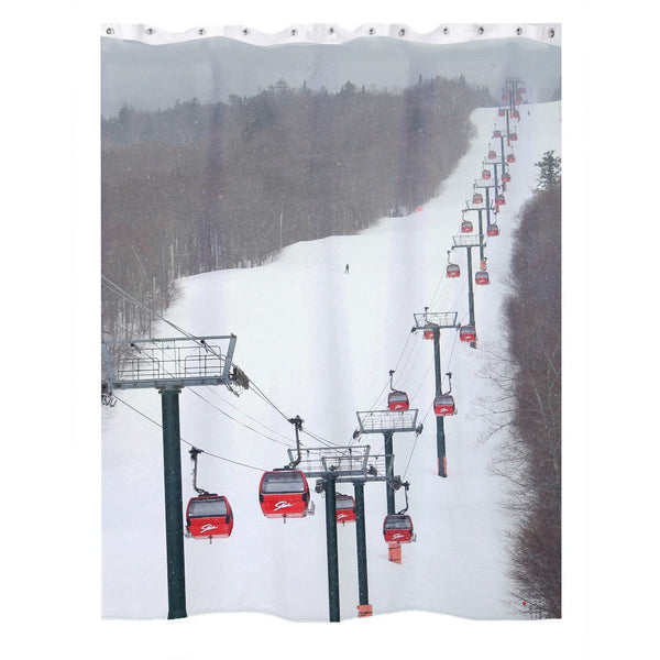 Stowe Mountain Gondola - Shower Curtain