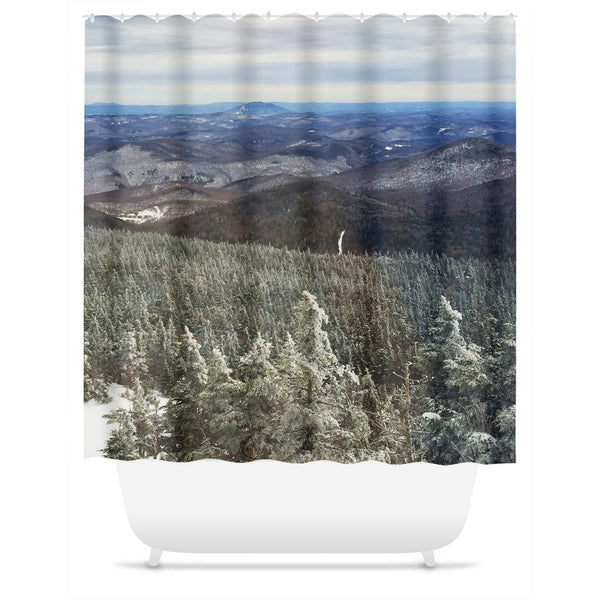 Killington Summit View - Shower Curtain