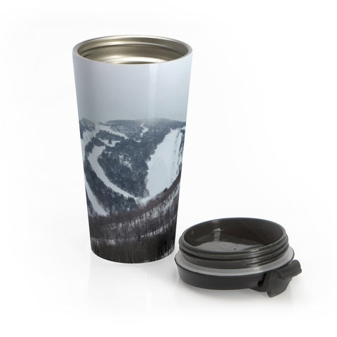 Stainless Steel Travel Mug - Killington Mountain View