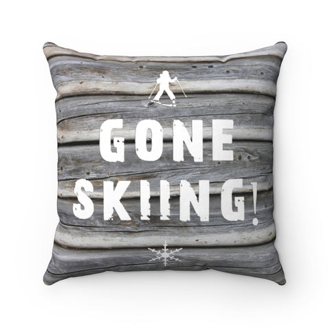 Gone Skiing - Pillow