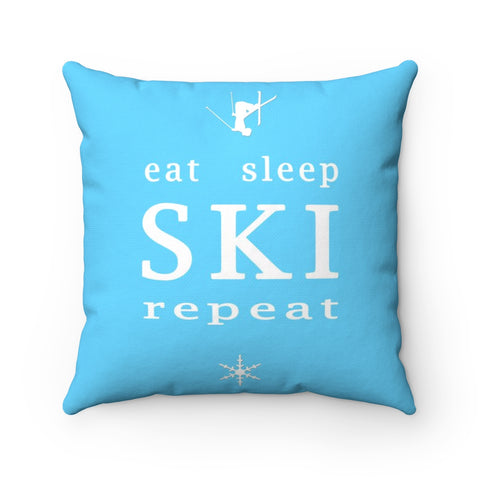 Eat Sleep SKI - Pillow
