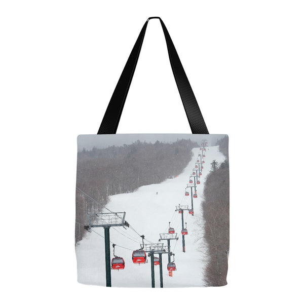 Stowe Mountain Gondola - Tote Bag
