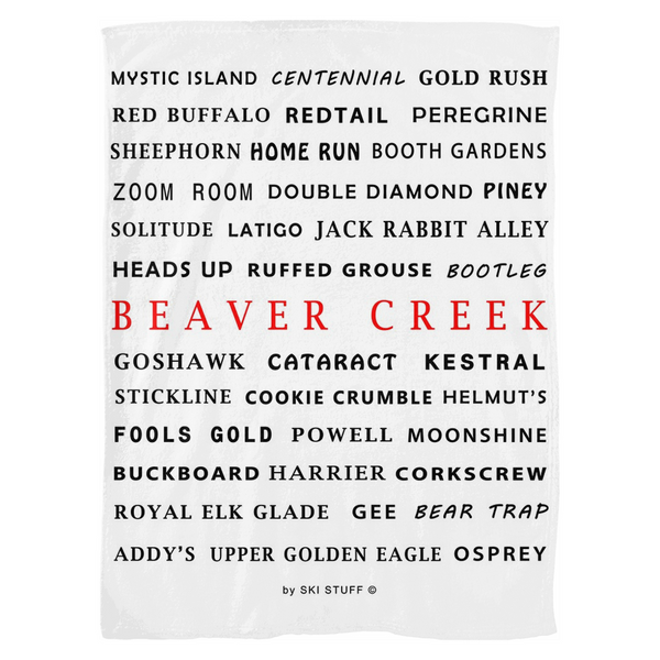 Beaver Creek - Fleece Blanket